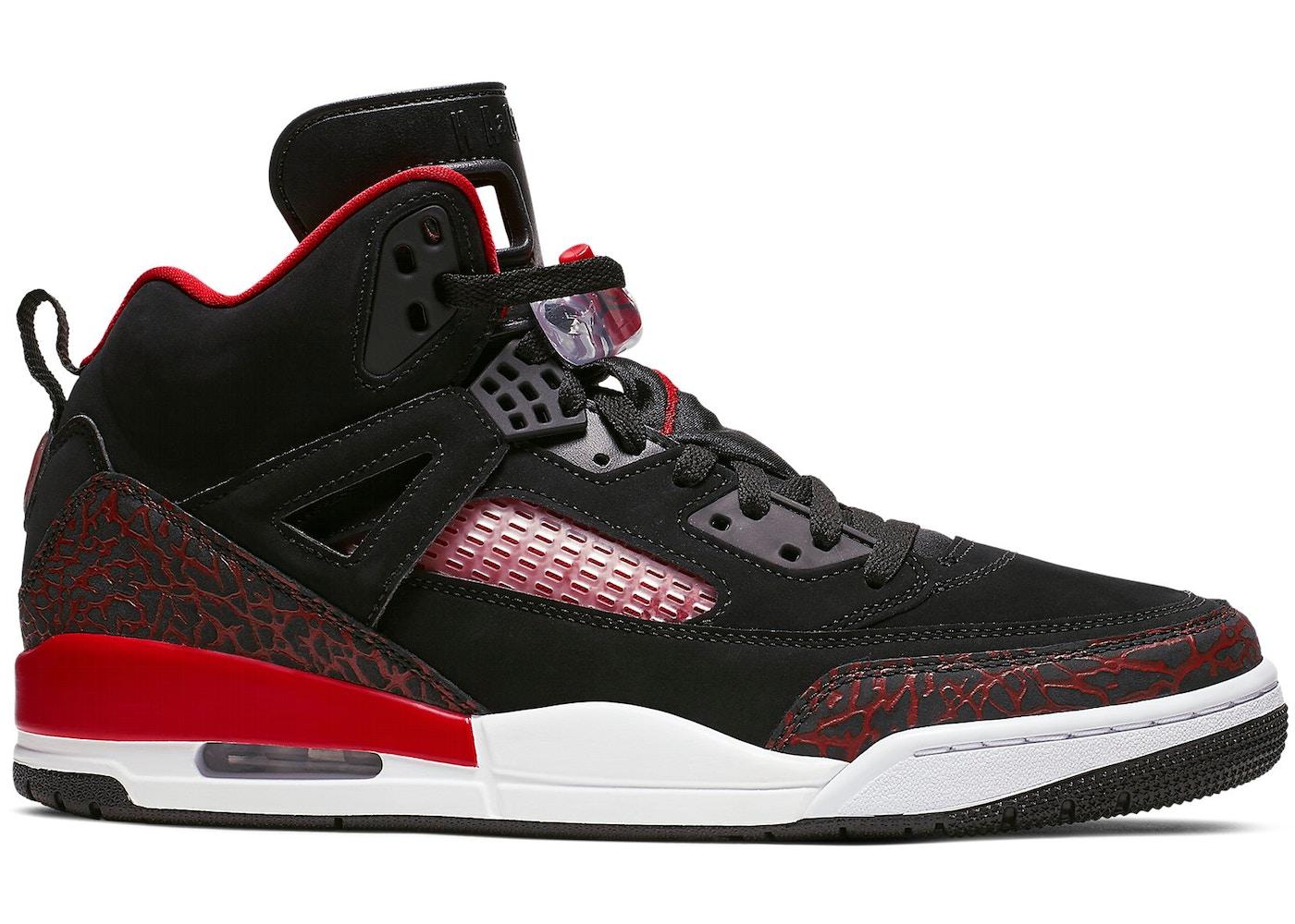 Jordan Spizike Black University Red