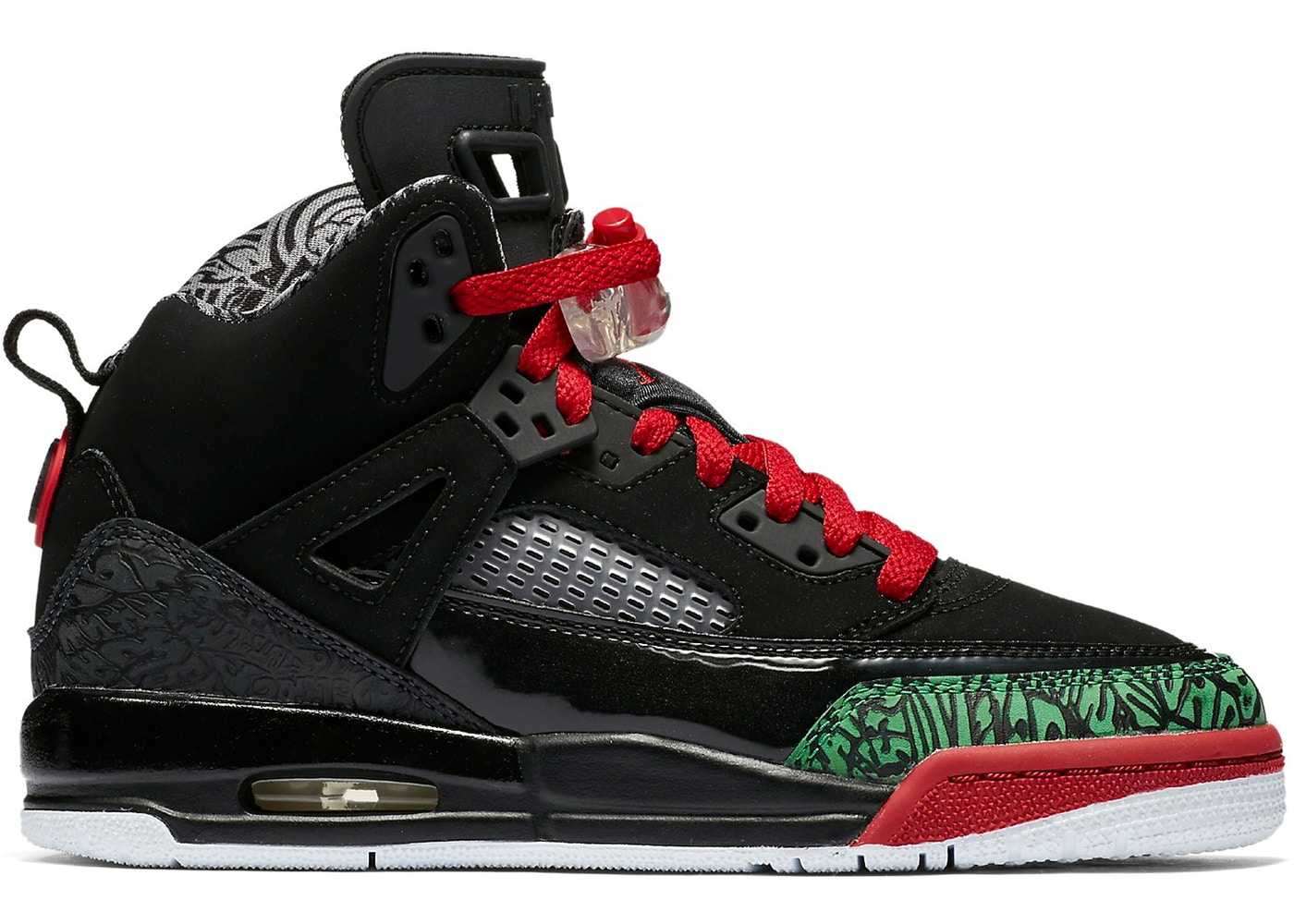 30d44ef0ab50 Sell. or Ask. Size  4.5Y. View All Bids. Jordan Spizike Black Varsity Red  2017 ...