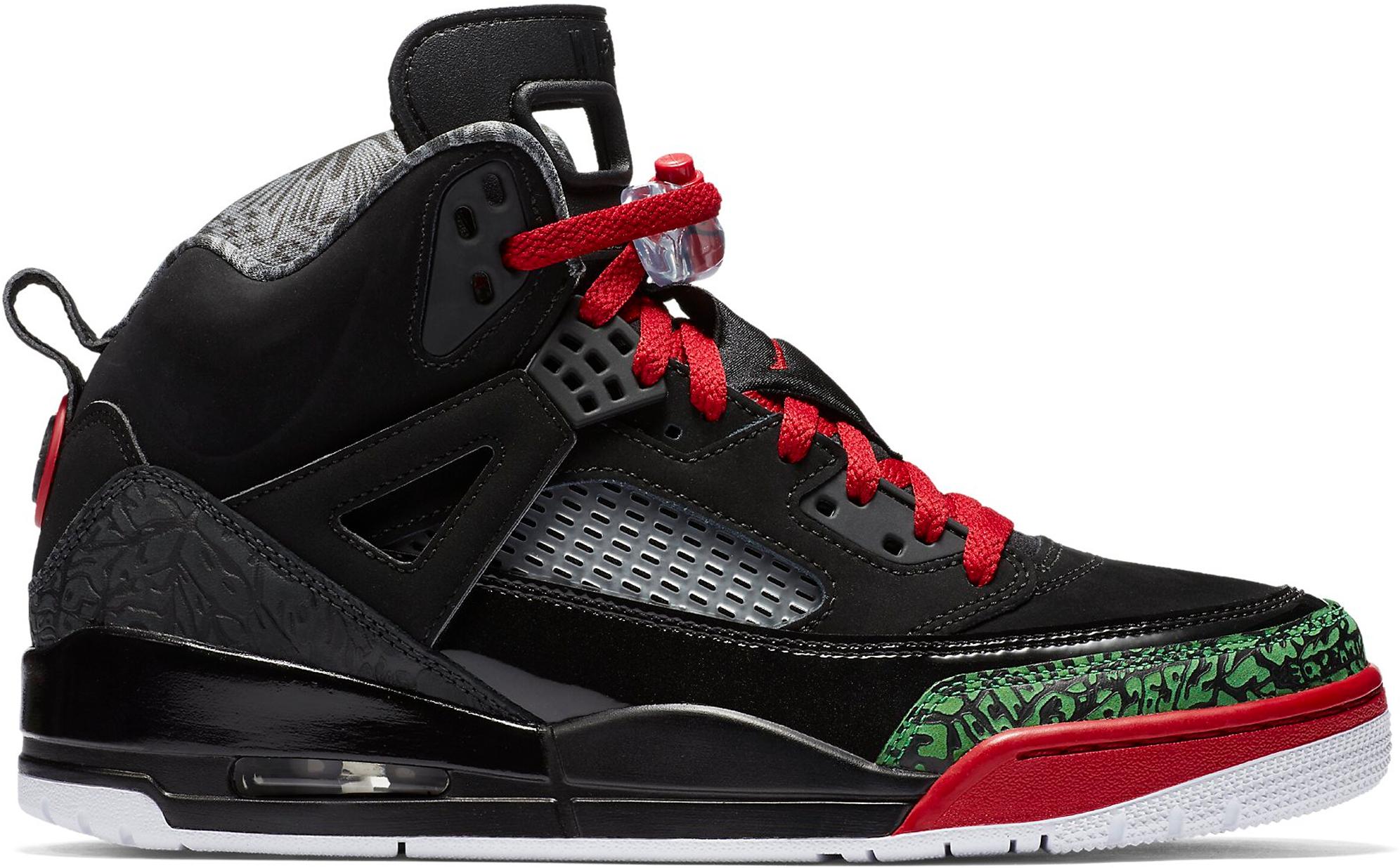Jordan Spizike Black Varsity Red (2017) Jordan Spizike Black And Red