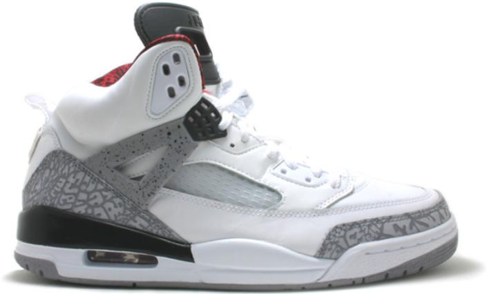 Jordan Spizike White Cement Grey