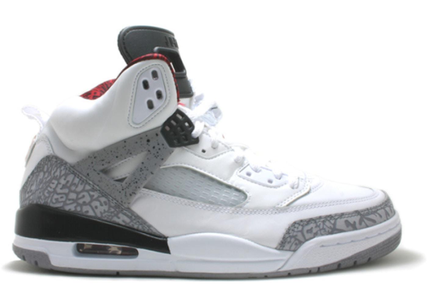 Jordan Spiz'ike Cement White Cement Jordan White Spiz'ike Grey Grey 3RA5jLq4