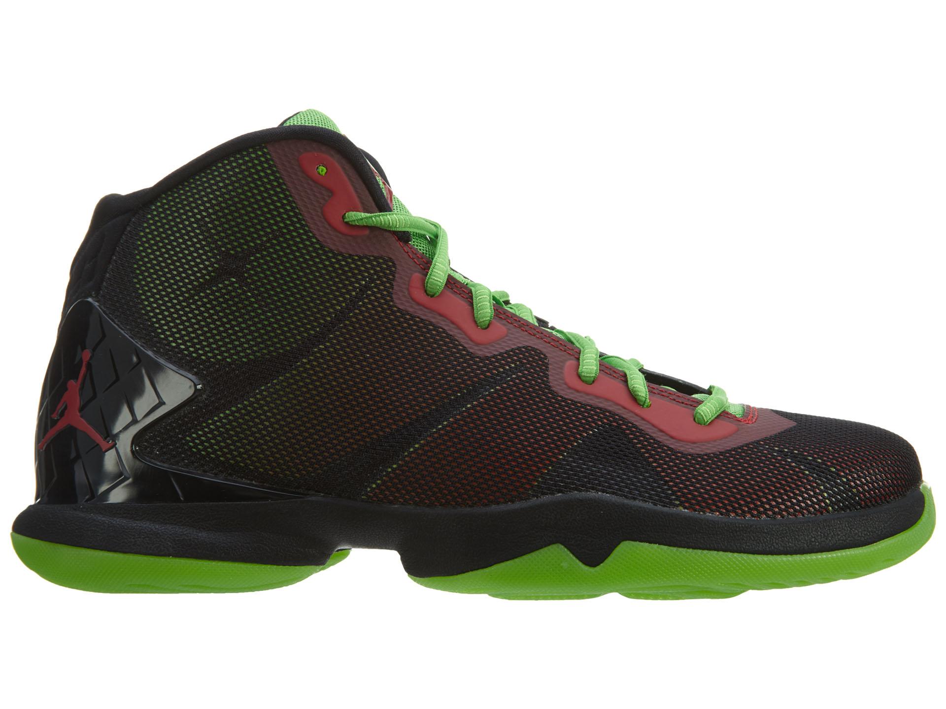 Jordan Super.Fly 4 Black/Gym Red-Green