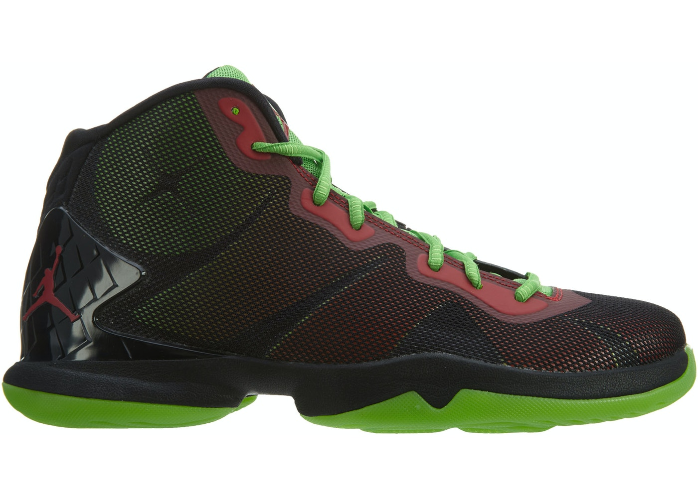 competitive price 153f1 c4b78 Jordan Super.Fly 4 Black Gym Red-Green Pls-Infrared 23 - 768929-006
