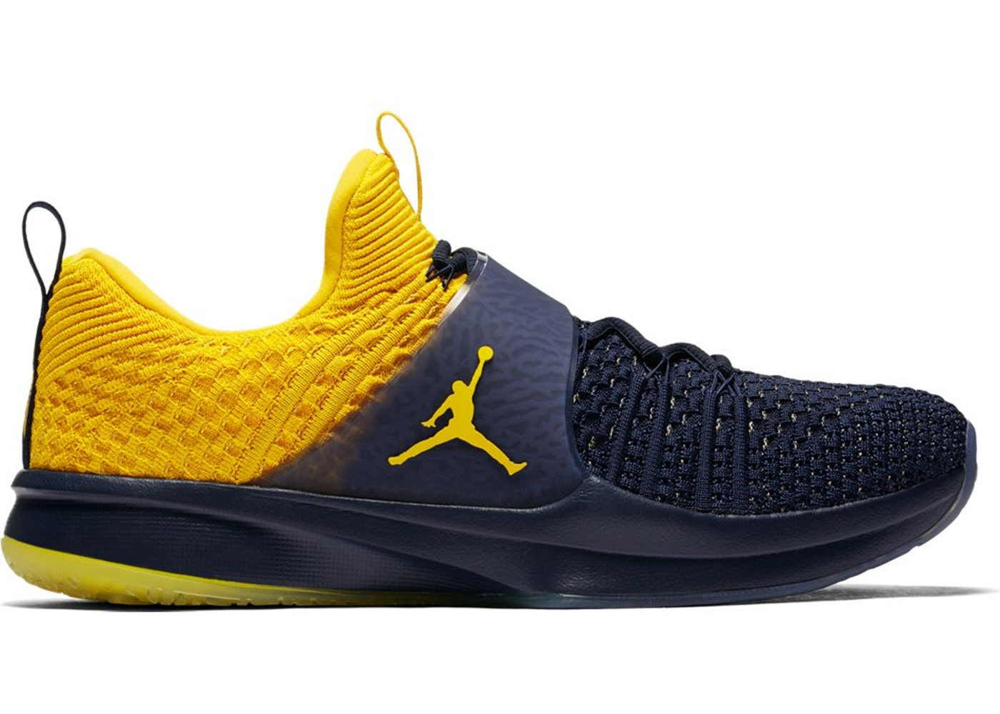74014218083d Sell. or Ask. Size  11. View All Bids. Jordan Trainer 2 Flyknit Michigan