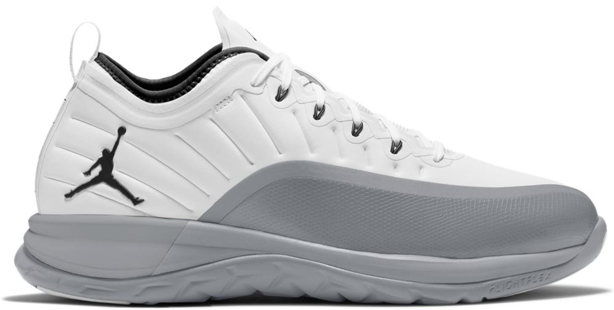 Jordan Trainer Prime White Wolf Grey
