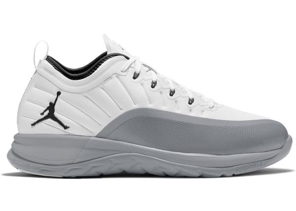 Jordan Trainer Prime White Wolf Grey 881463 103