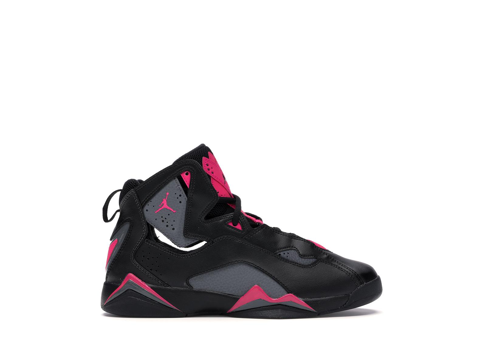 Jordan True Flight Black Dark Grey