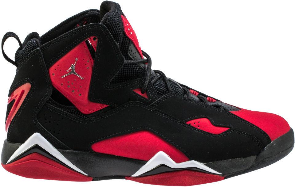 Jordan True Flight Black Red - CU4933-001
