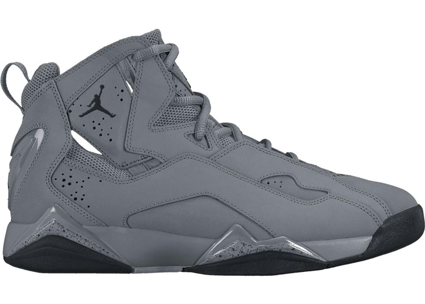 new style a2ec5 f71f1 Jordan True Flight Cool Grey Black