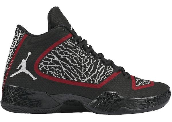 new products 01131 05293 Jordan XX9 Black White Gym Red