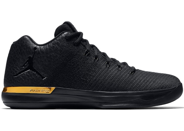 separation shoes bade4 76711 Jordan XXX1 Low Black Gold - 897564-023