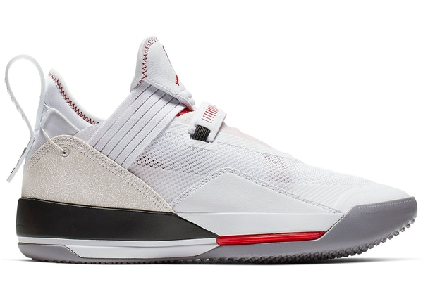 84c04823b83 Jordan XXXIII SE White Gym Red Black