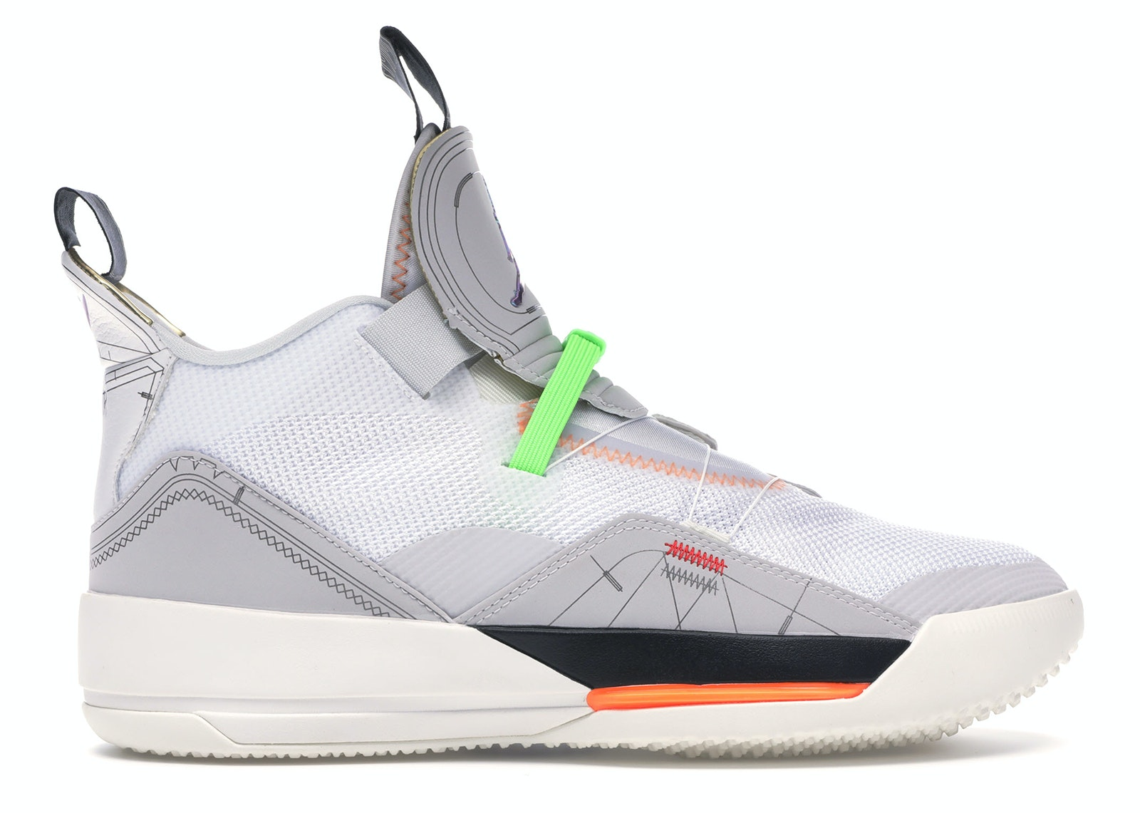 Jordan XXXIII Vast Grey
