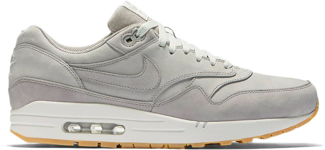 Nike Air Max 1 Leather Medium Grey