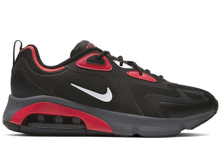 Nike Air Max 200 Black/University Red