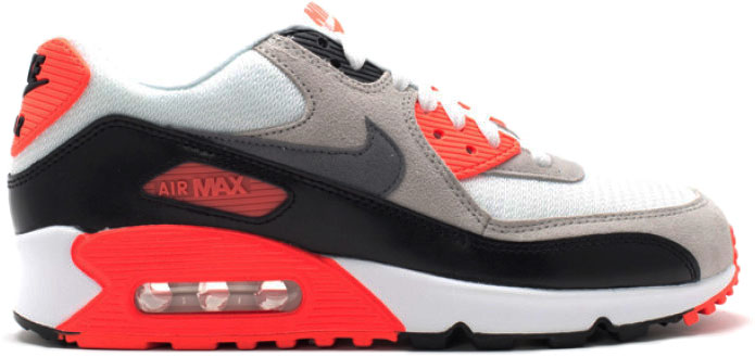 Air Max 90 Infrared Mesh (GS) im Angebot Air Max 90 Infrared