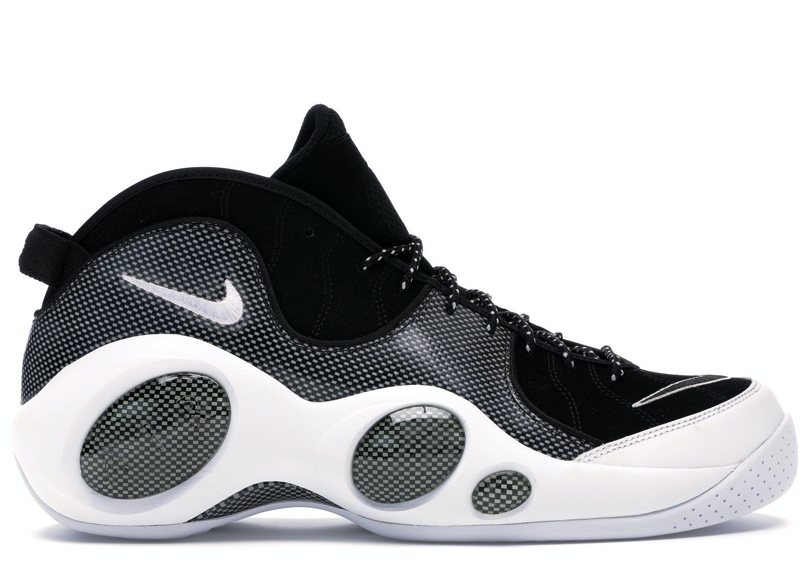 Air Zoom Flight 95 Black Metallic Silver