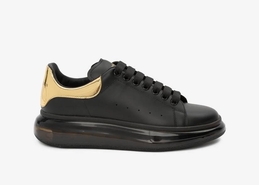 Alexander McQueen Oversized Black Gold