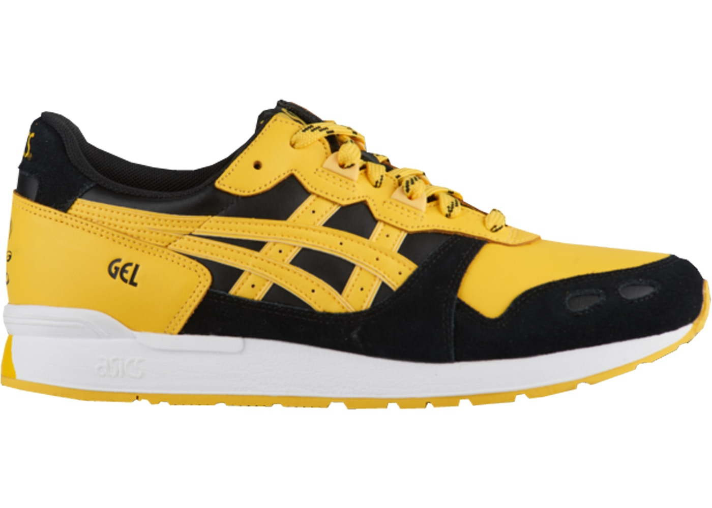 asics gel yellow