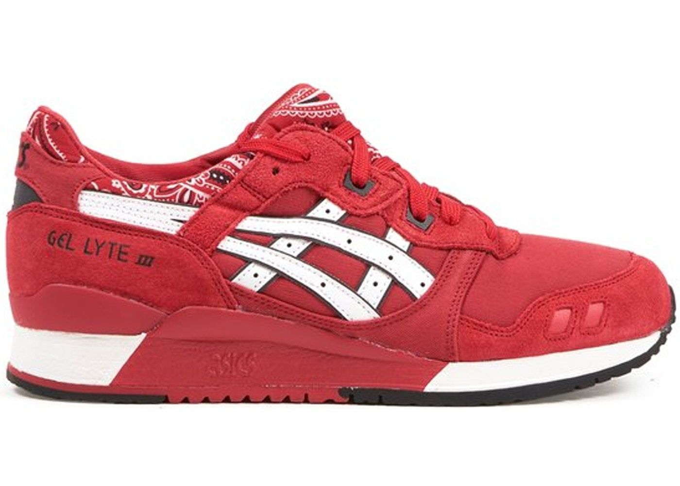 ASICS Gel Lyte 3 Bandana Red H424N 2301