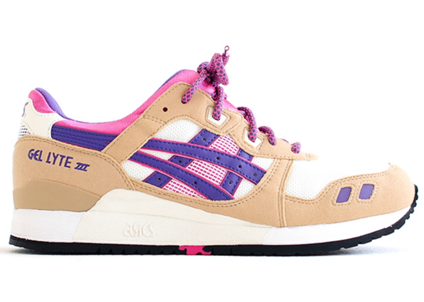finest selection 0f486 fe87f ASICS Gel-Lyte III Creme - HN538-0333