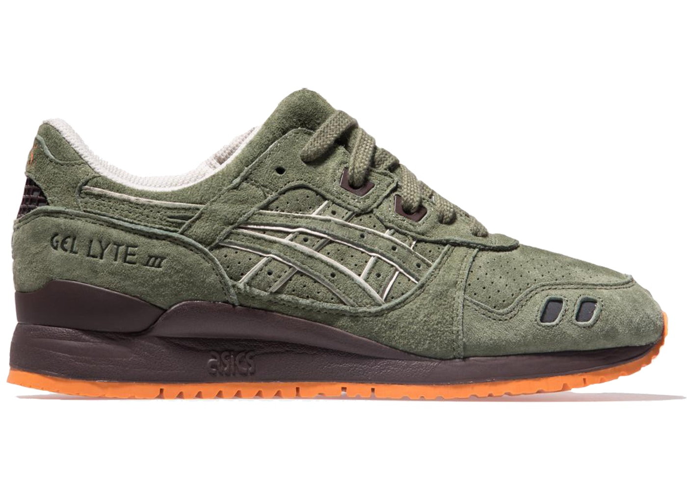 finest selection 88bbd 09361 ASICS Gel-Lyte III Ronnie Fieg Militia (Special Box)
