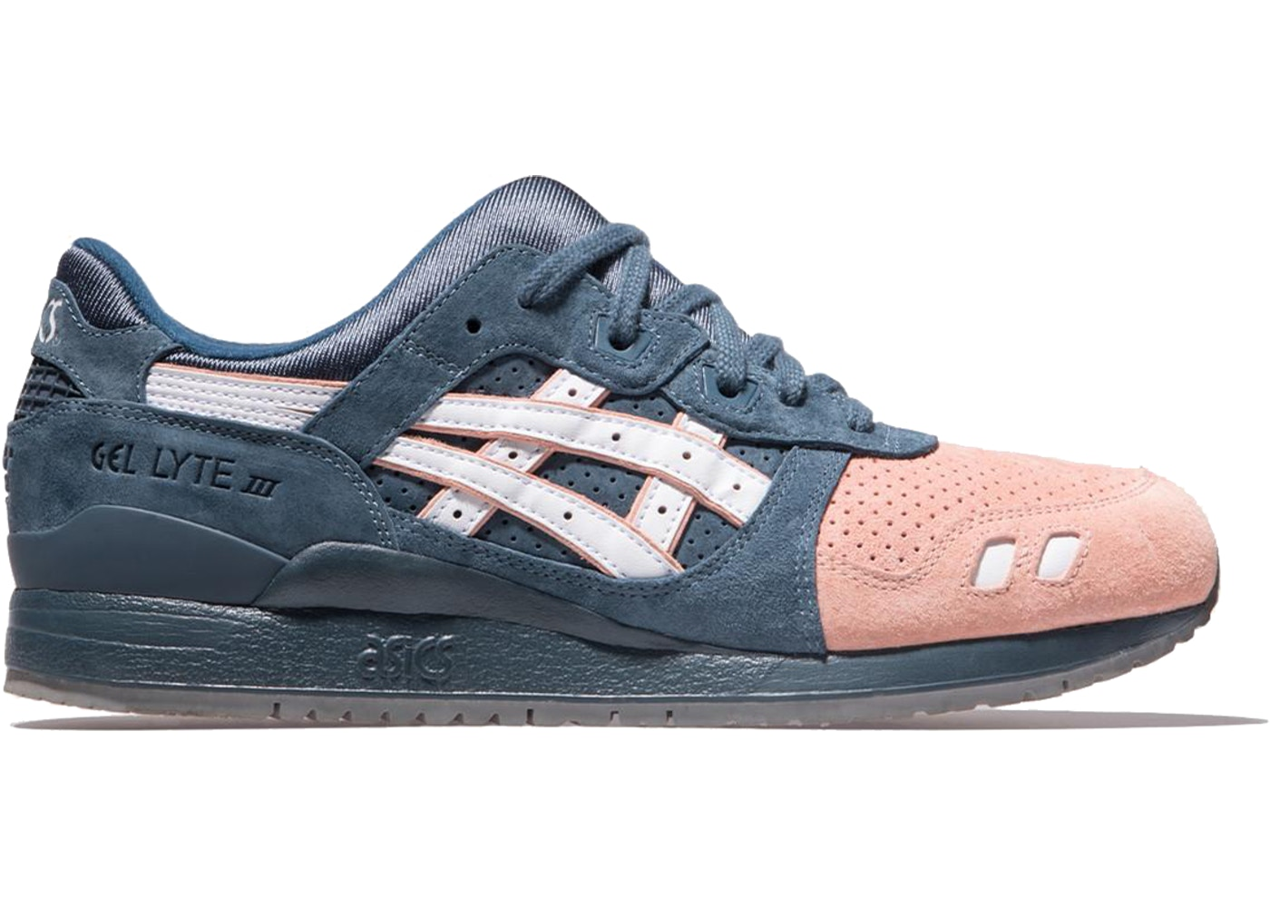 separation shoes 22267 bff77 ASICS Gel-Lyte III Ronnie Fieg Salmon Toe 2.0 (Special Box)