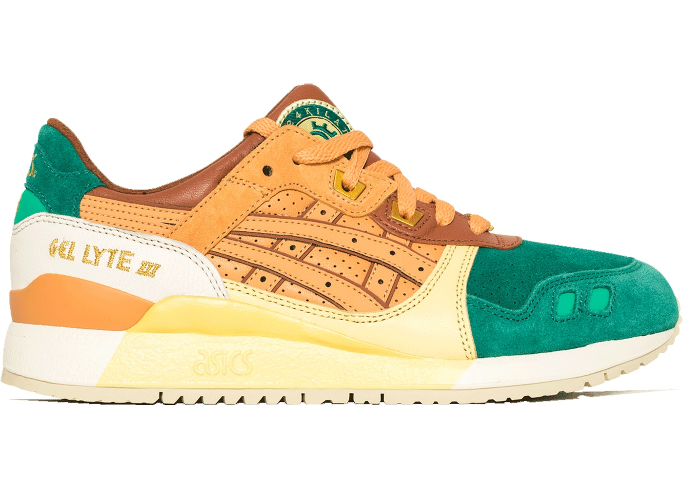 Asics Gel Lyte III 24 Kilates Express