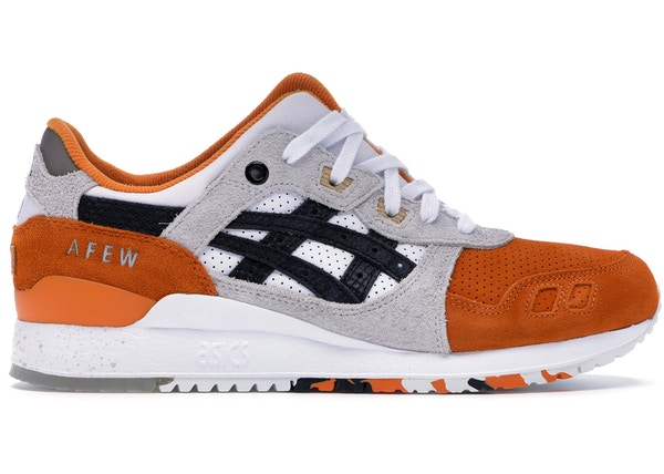 34edc4c4957ab Asics Gel-Lyte III Afew x Beams Orange Koi