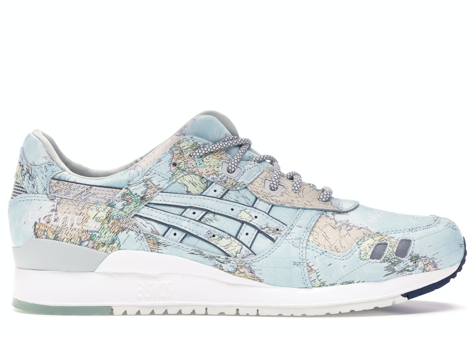 Asics Gel-Lyte III Atmos World Map