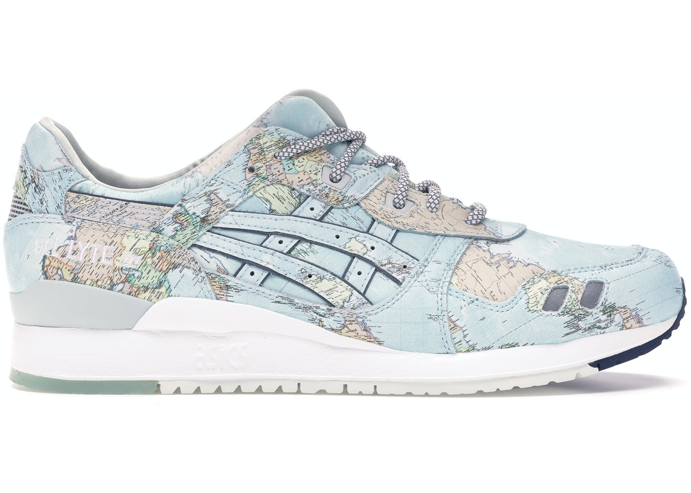 competitive price f2978 67432 Asics Gel-Lyte III Atmos World Map