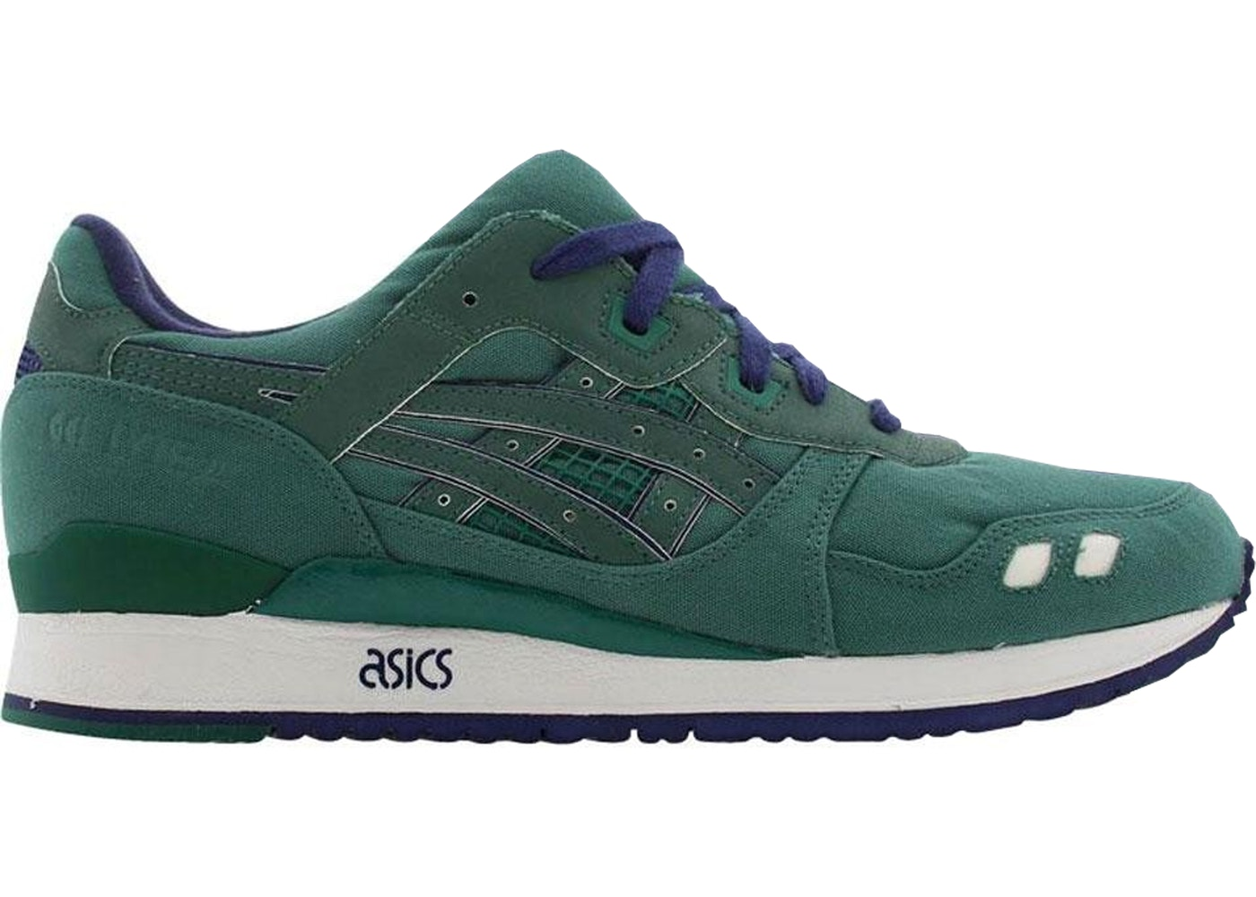 echte schoenen koop goed winkel Asics Gel-Lyte III Bait Green Ring