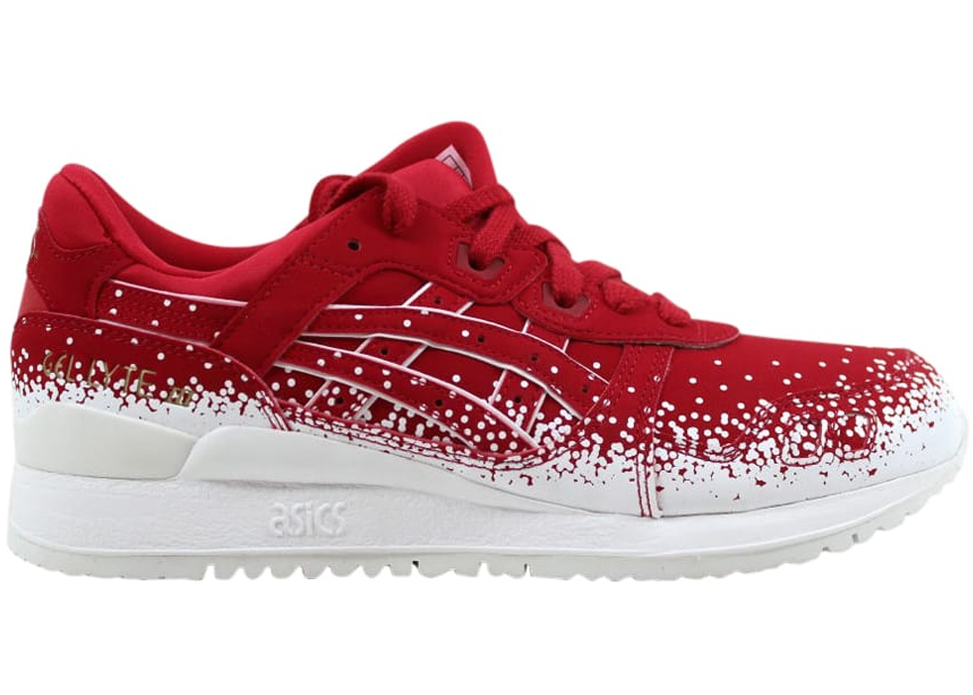 lowest price b76ce 32766 Asics Gel-Lyte III Christmas Red