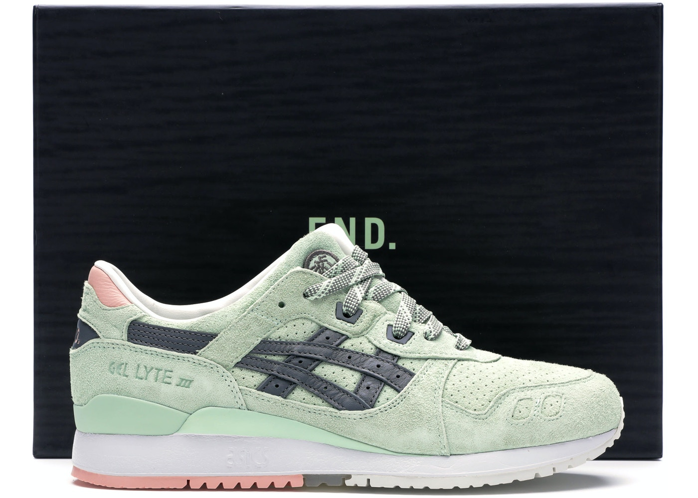 cheap for discount 08fa9 60ce8 ASICS Gel-Lyte III End Wasabi (Special Box)