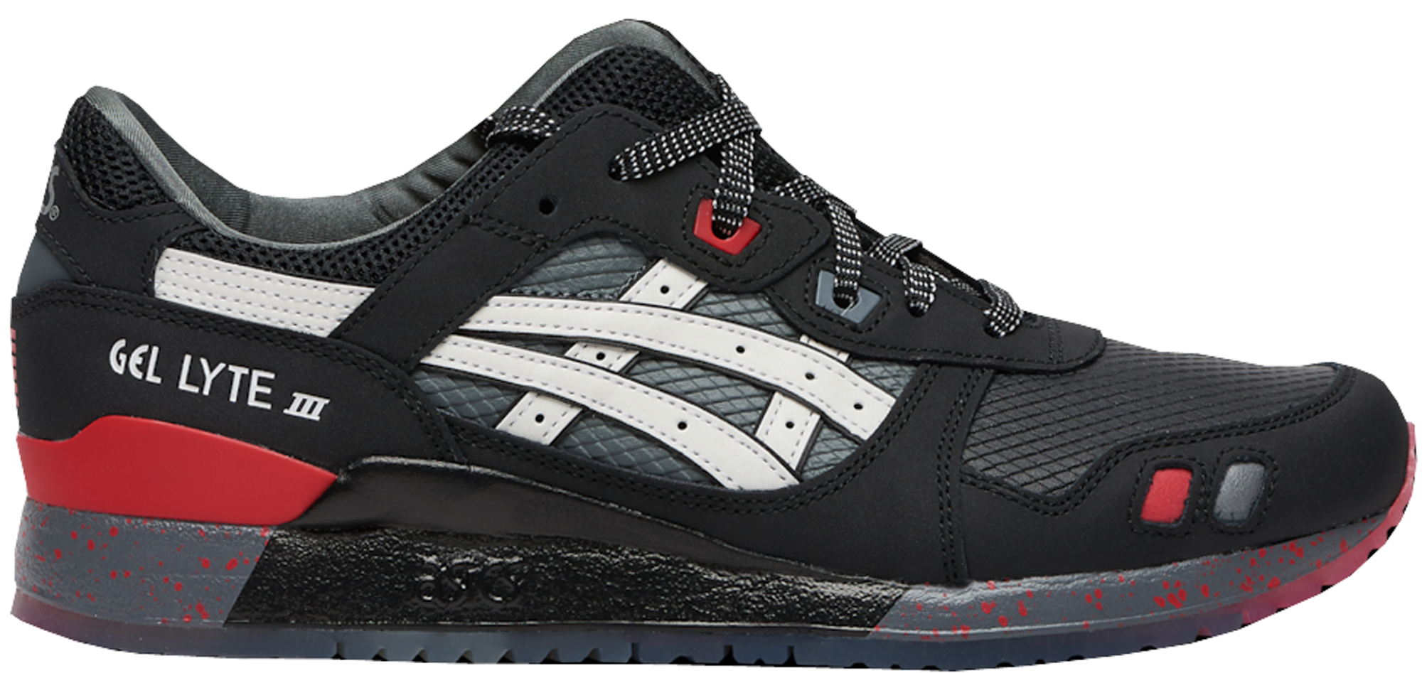 Asics Gel-Lyte III GI Joe Snake Eyes