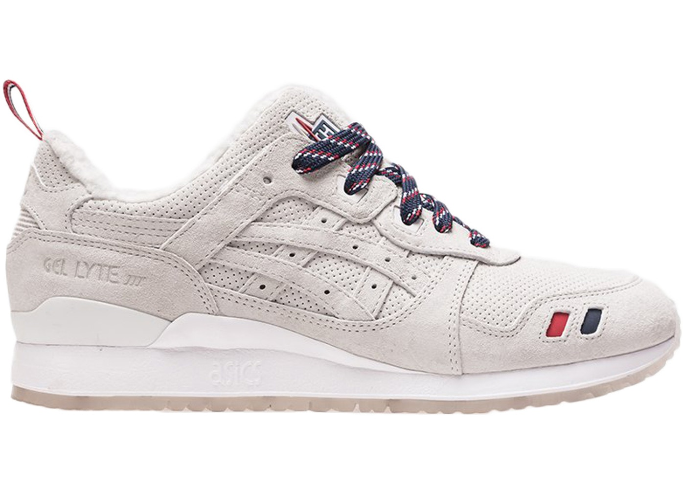 save up to 80% closer at reputable site ASICS Gel-Lyte III Kith x Moncler Cream