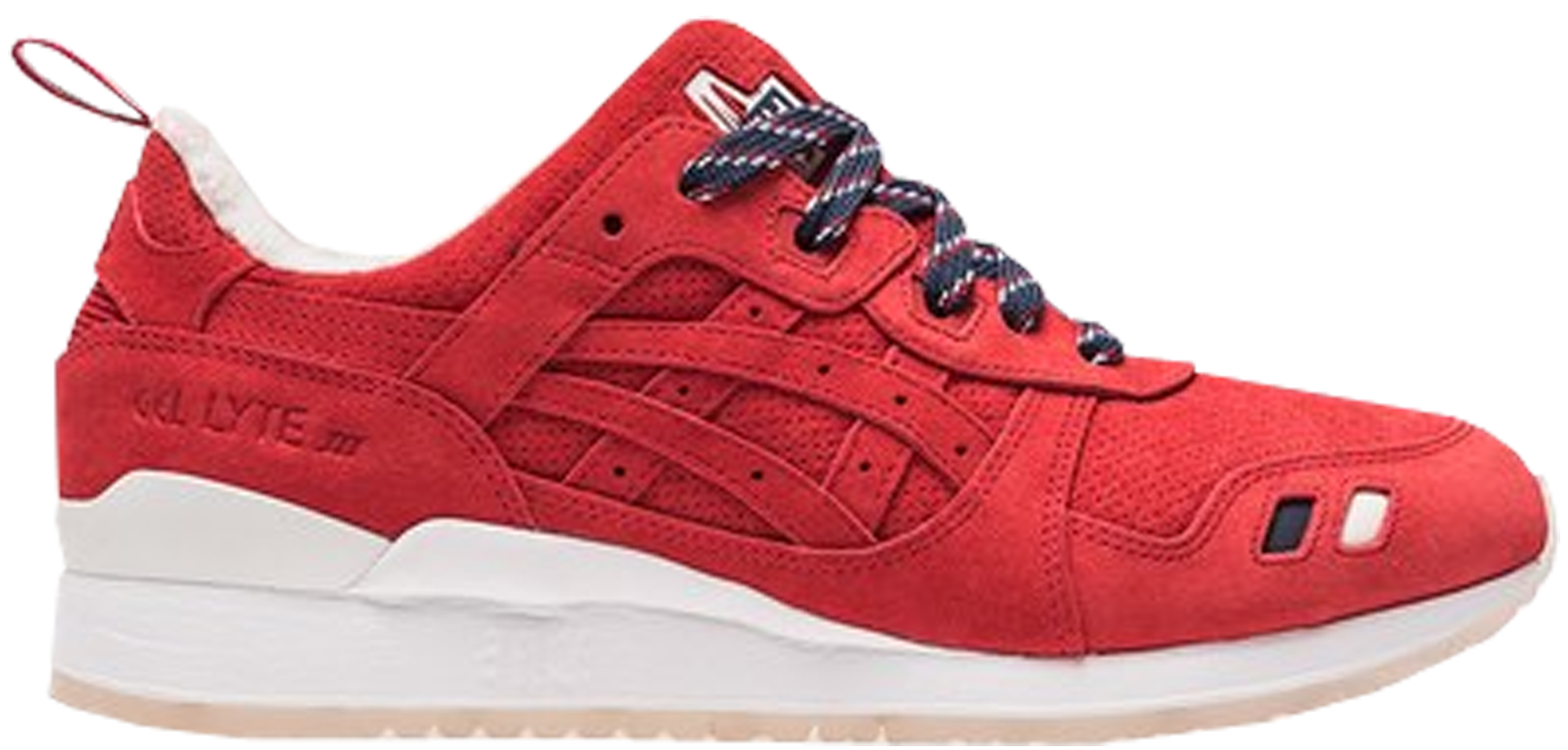 Asics Gel-Lyte III Kith x Moncler Red