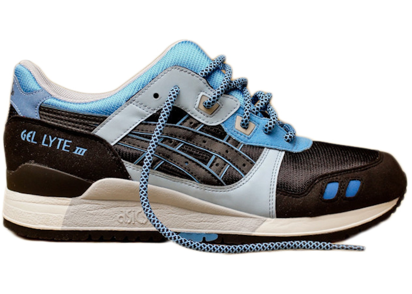 ASICS Gel-Lyte III Kithstrike Black Carolina Blue - HN538-9090 a7899d0bf