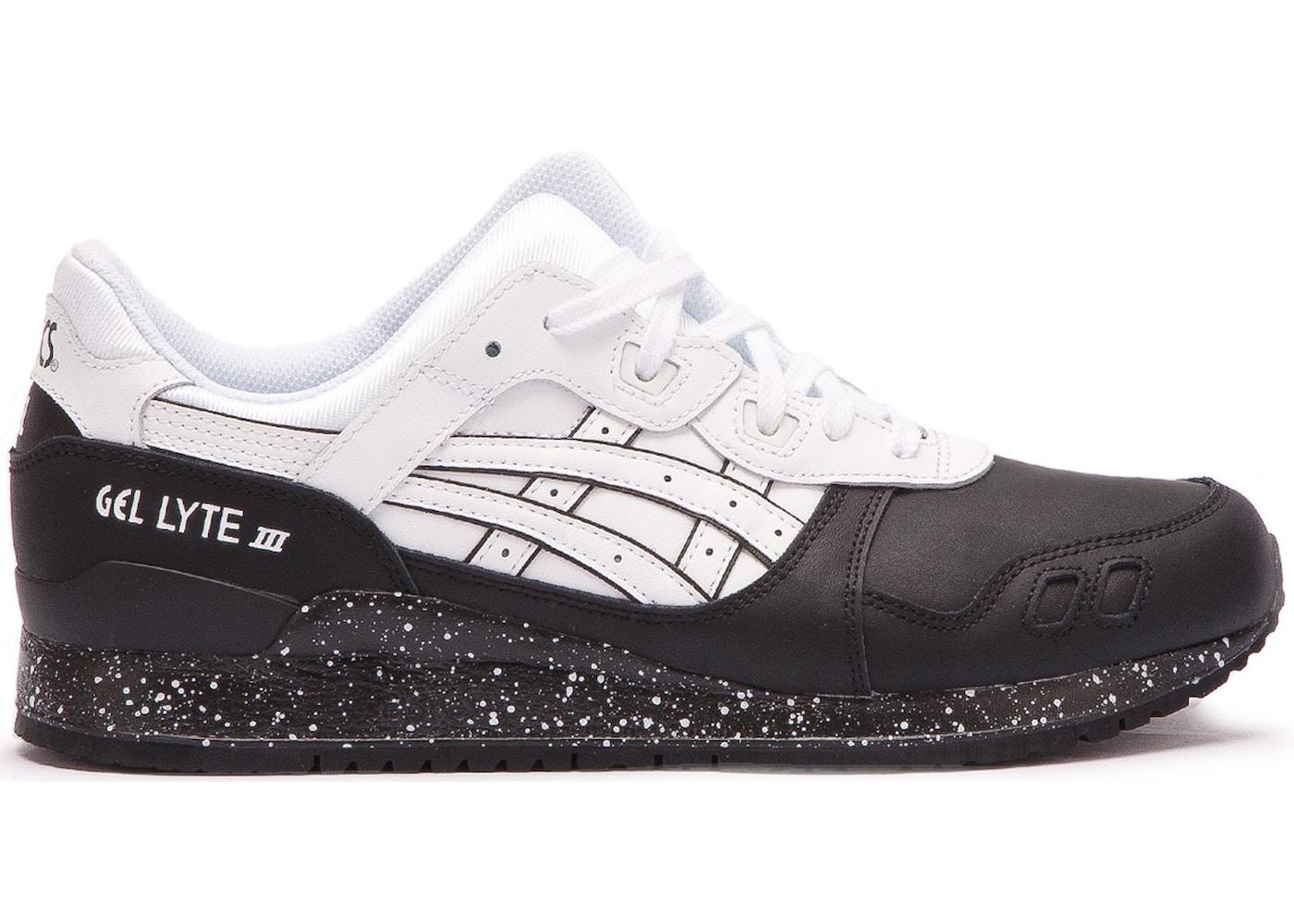 wholesale dealer abc1a 1ba6e Asics Gel-Lyte III Oreo Pack White Black