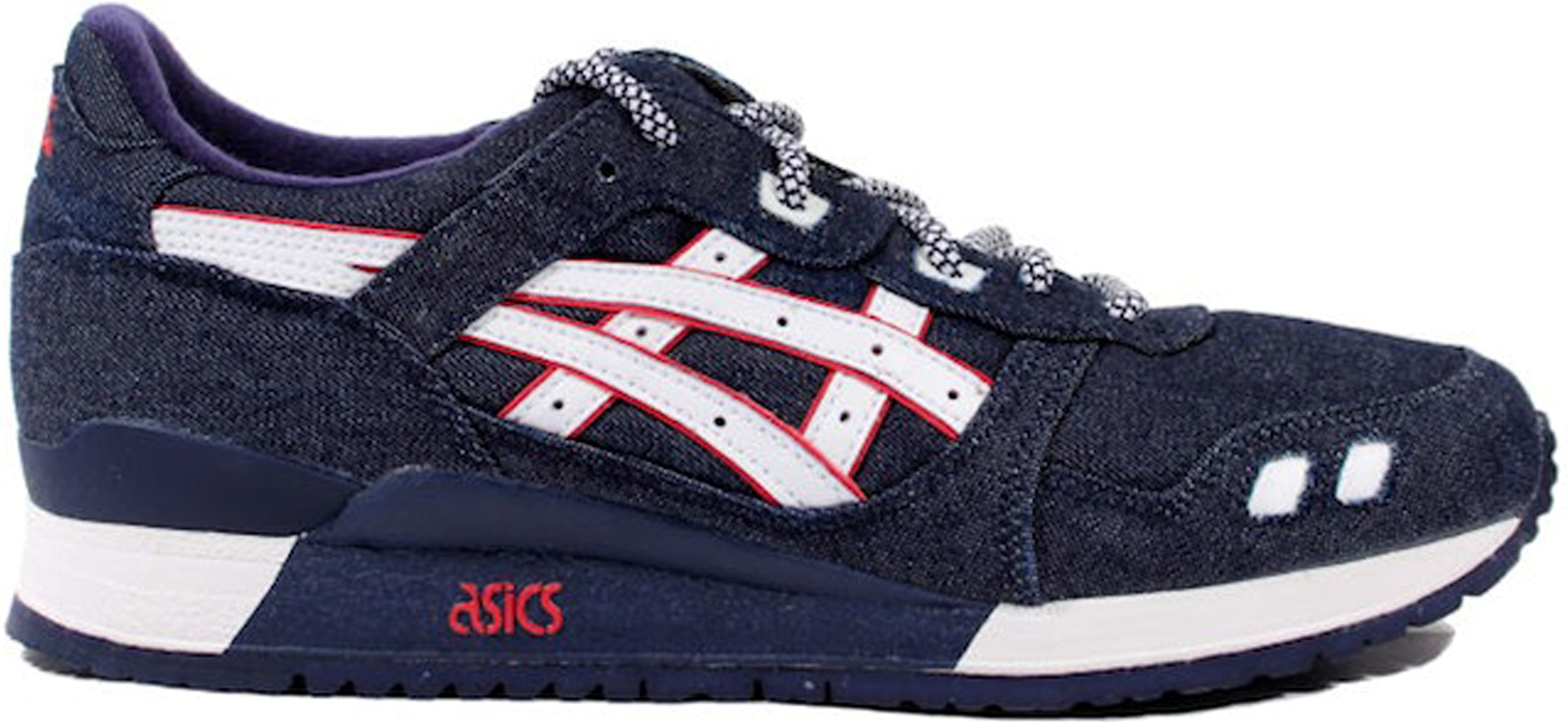 asics gel lyte 3 selvedge