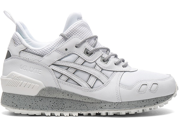 designer fashion 2d206 16da7 Asics Gel-Lyte MT White Grey Reflective - H6K1L-0101