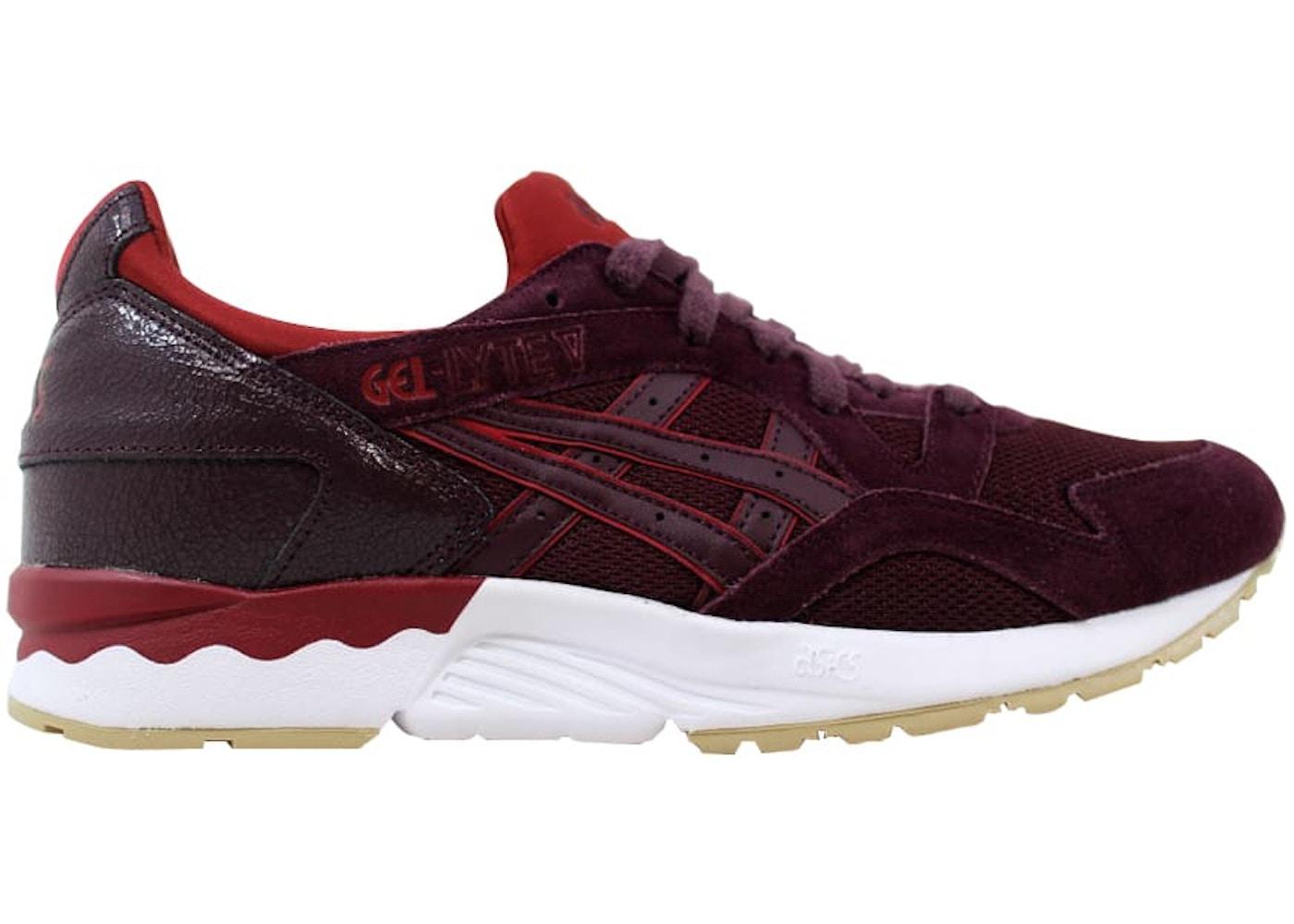 best sneakers c65e3 e1e5d Asics Gel Lyte V 5 Rioja Red/Rioja Red