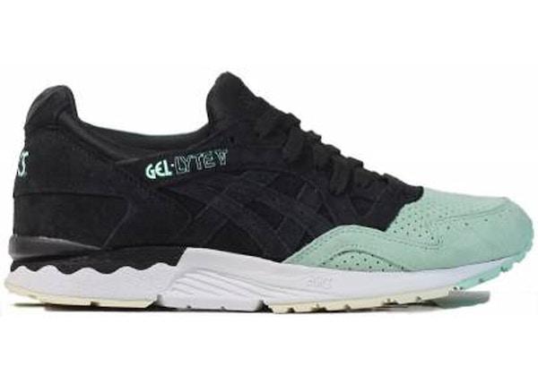 307fd7f4a7e5 ASICS Gel-Lyte V Black Mint - H737L-9090