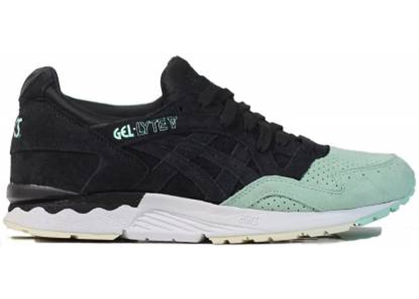 timeless design 7891e 6e1e8 ASICS Gel-Lyte V Black Mint