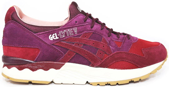asics gel foundation 10 rosse