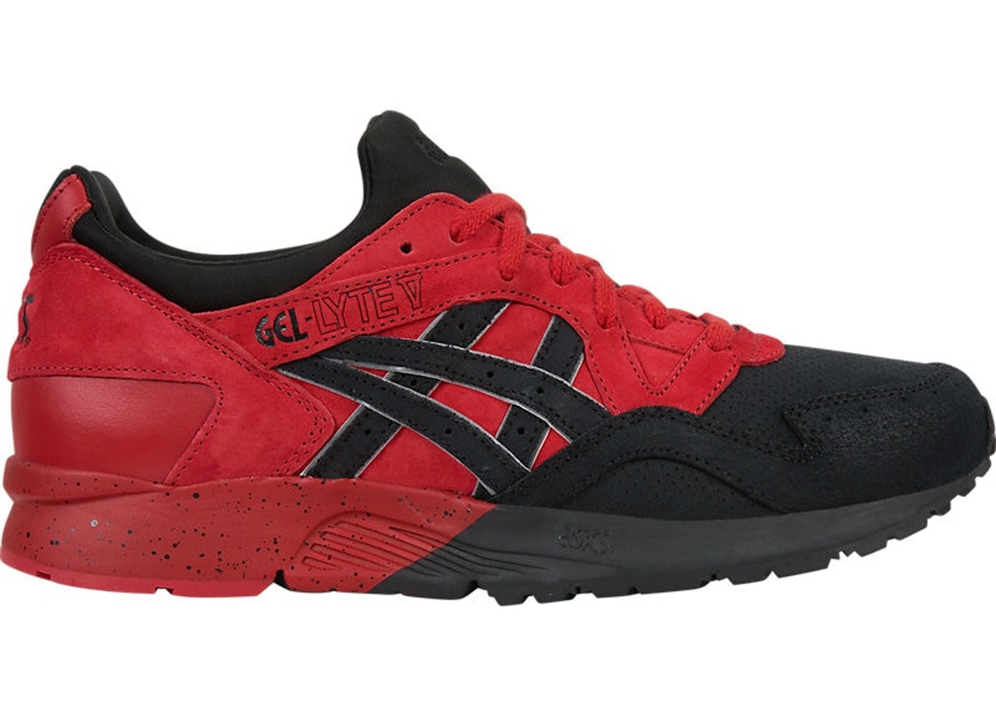 new product 02b87 60c72 Asics Gel-Lyte V Red Black