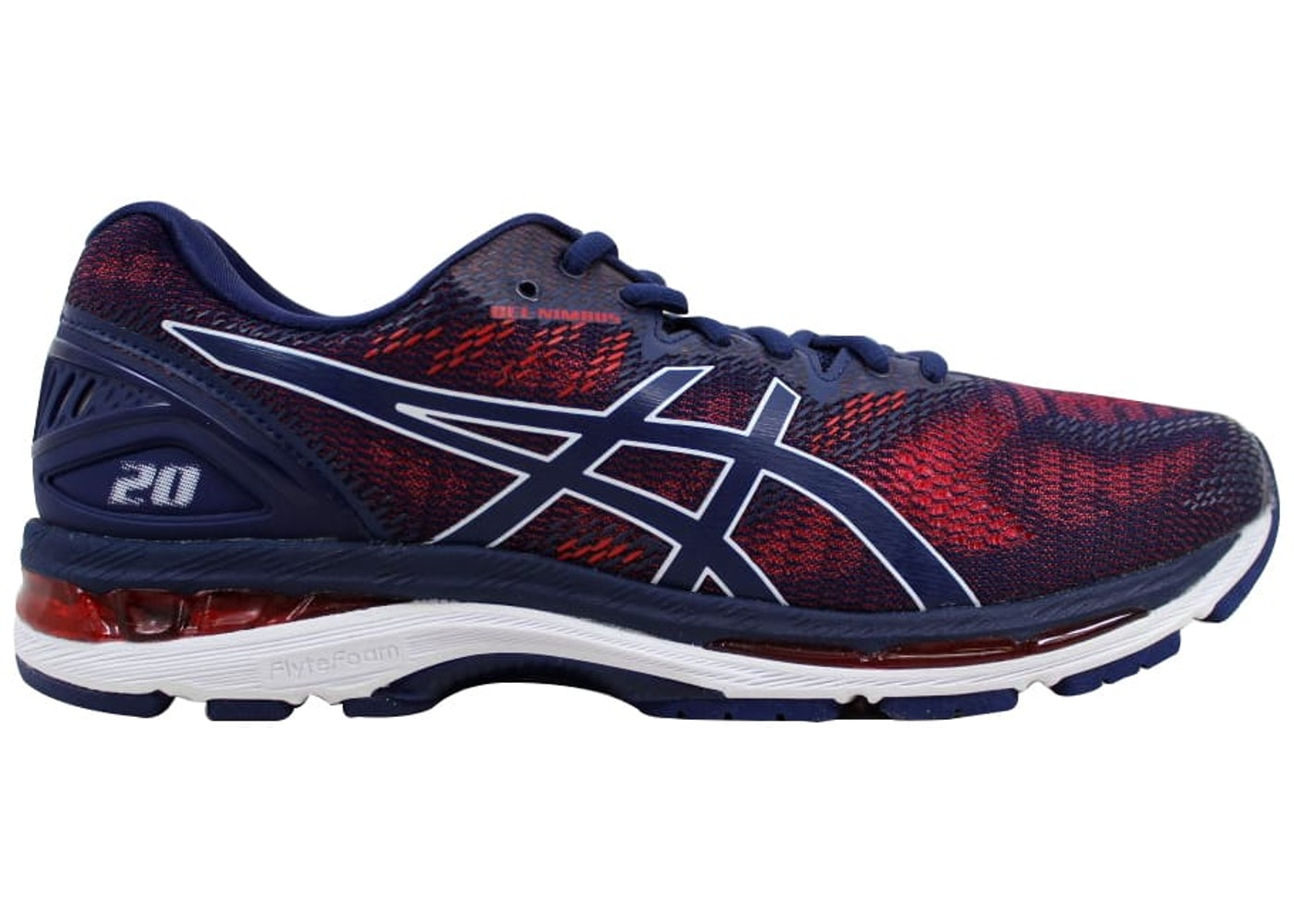 34b7d1a09537 Sell. or Ask. Size --. View All Bids. Asics Gel Nimbus 20 Indigo Blue Indigo  ...
