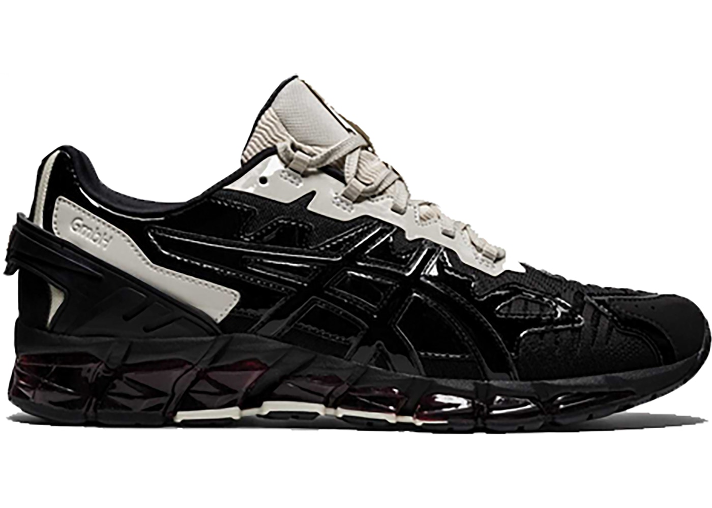 Desafortunadamente Disco poetas  Asics Gel-Quantum 360 6 GmbH Ivory Black - Sneakers