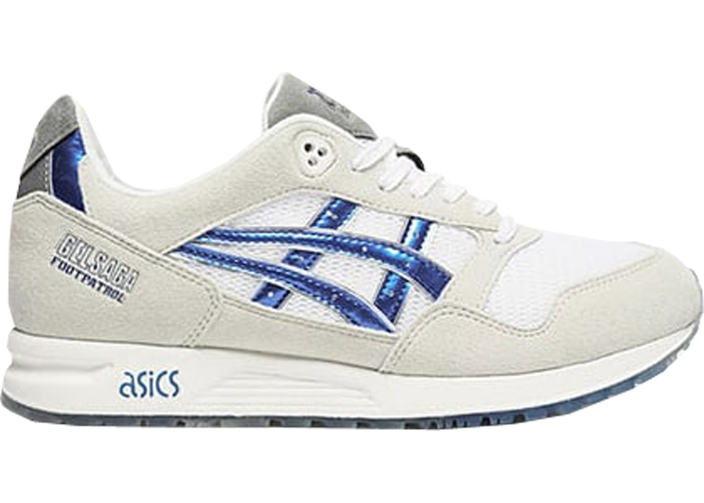 detailed look 3aa62 2ec2d Asics Gel-Saga Foot Patrol Gundam
