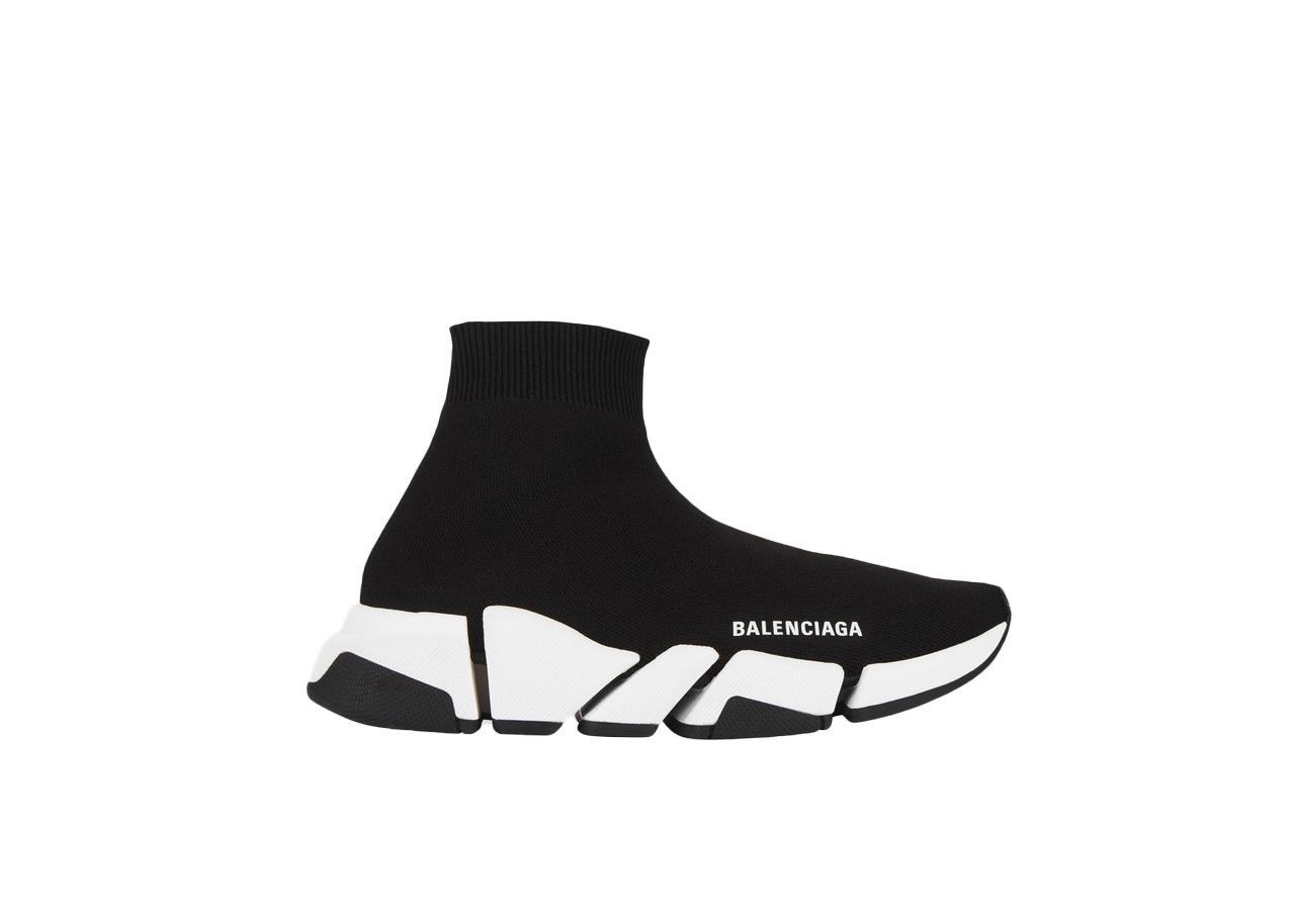Balenciaga Speed 2.0 Black White